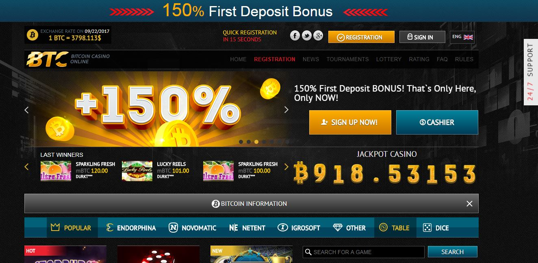 Gry online w kasynie bitcoin